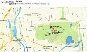 Stadtplan Stadtpark Winterhude