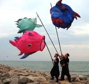 Fliegende Fische von Anne-Careen Engel