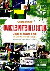 Goetheinstitut Plakat